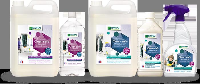 Clean Safe produits