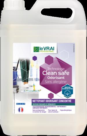 (4243) Vfr Lvp Clean Safe Nettoyant Odorisant Concentre 5l