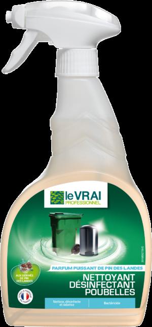 (4930) Vfr Lvp Nettoyant Desinfectant Poubelles 750ml