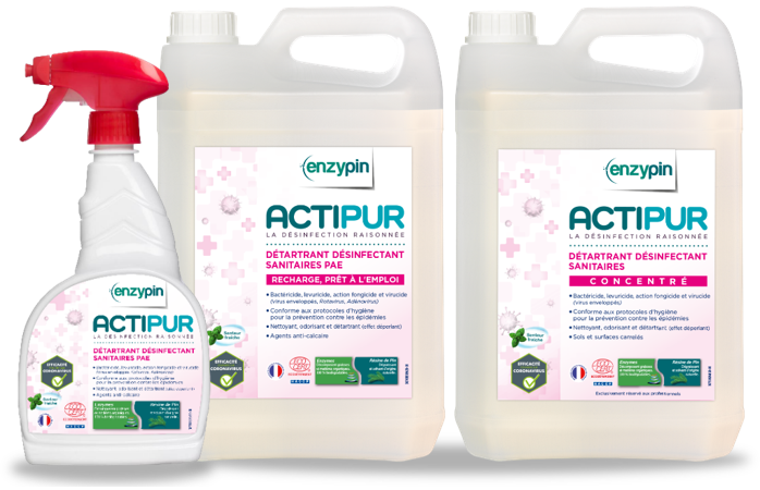 Produits Detartrant Desinfectant Sanitaires Actipur